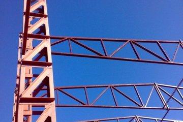 Изготовление металлических ферм, колонн