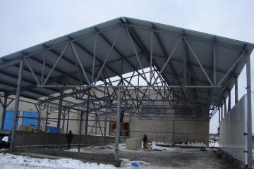 Ангар для хранения техники, Иваново