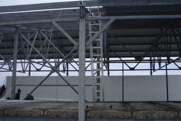 Изготовление металлоконструкций склада