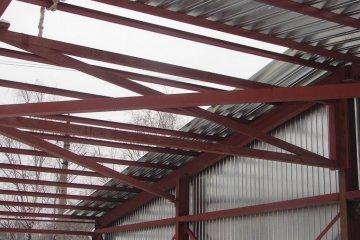 Строительство ангаров и складов