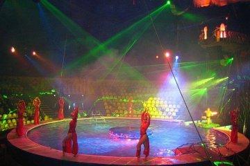 """Цирковая арена """"Ковер-лед-вода"""""""