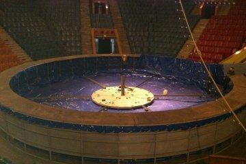 Изготовление и монтаж цирковой арены