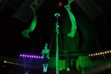 Изготовление арены для водного цирка
