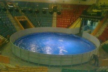 Металлическая цирковая арена