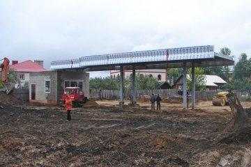 Строительство автозаправочной станции Лукойл