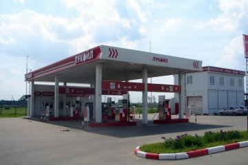 Автозаправочная станция Лукойл