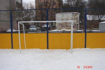 Футбольные ворота металлические