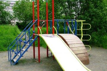 Детский уличный спортивно игровой комплекс