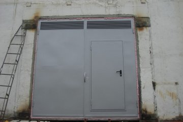 Двери металлические для производственных помещений