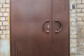 Двери металлические бронированные
