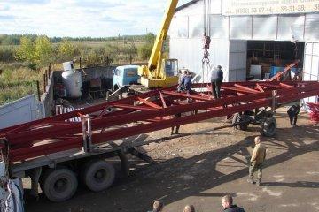 Доставка металлических ферм