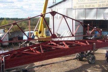 Усиление фермы Металлоконструкции