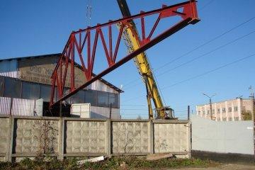 Усиление стальных ферм