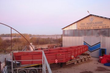 Узлы стальных ферм