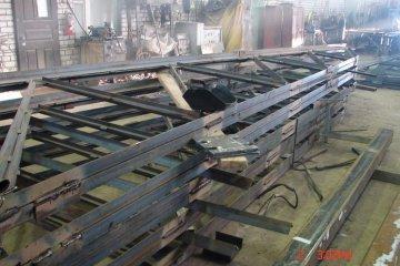 Изготовление и монтаж металлических ферм