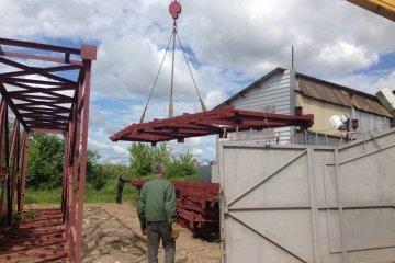 Ферма перекрытия металлические