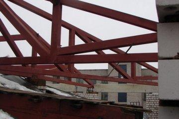 Монтаж ферм промышленных зданий
