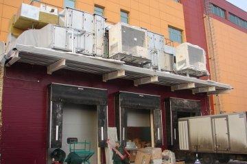Монтаж вентеляционного оборудования