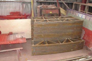 Усиление металлических колонн