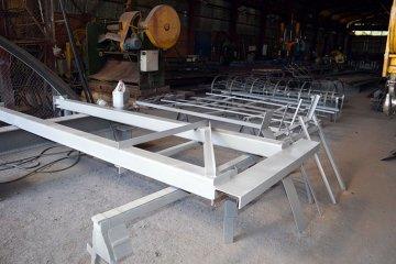 Изготовление металлической колонны