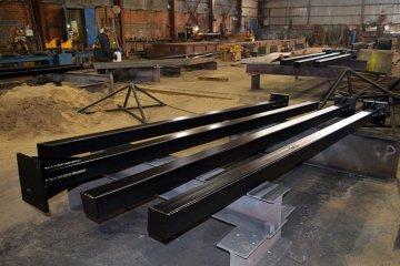 Металлические колонны для промышленных зданий