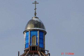 Купол храма из металла