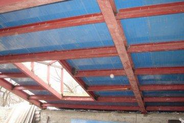 Строительство крыш из металлоконструкций