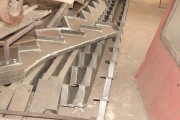 Металлические лестницы Изготовление