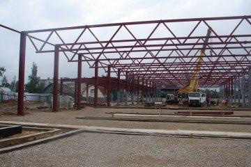 Строительство складского комплекса Иваново