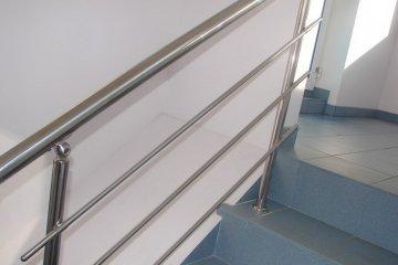 Нержавеющие лестничные перила