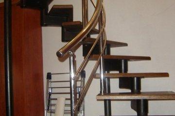 Ограждения для винтовых лестниц