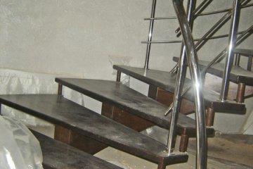 Изготовление металлических лестниц и перил