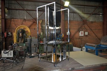 Изготовление металлического стеллажа