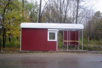 Облицовка автобусных остановок
