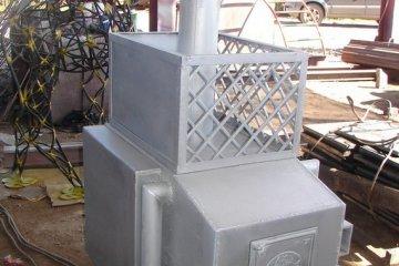 Металлоконструкция Печь