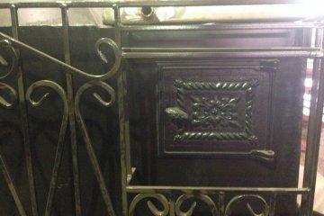 Печь в баню металлическая