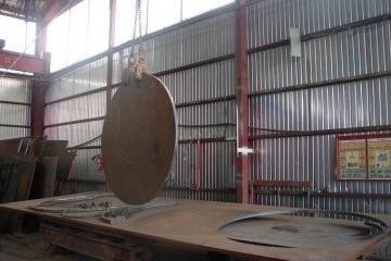 Раскрой металла толщиной до 160 мм