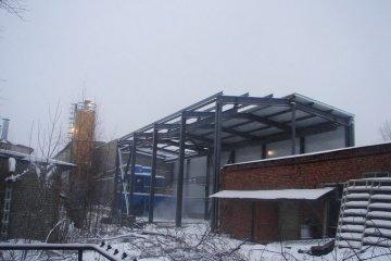 Строительство складского цеха