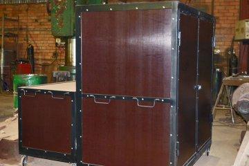 Ящик для транспортировки циркового оборудования