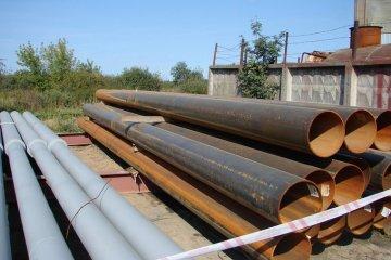 Замена участка трубопровода