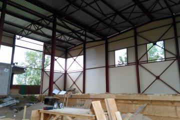 Строительство спортивно оздоровительного комплекса