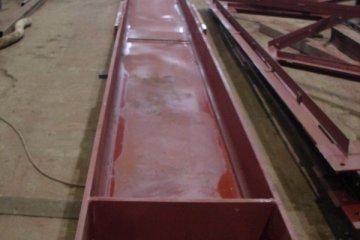 Производство металлической балки