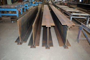 Балка металлическая любых типов