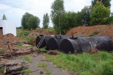 Резервуары металлические