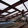 Каркасная крыша из металлоконструкций