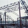 Монтаж металлоконструкций торгового комплекса